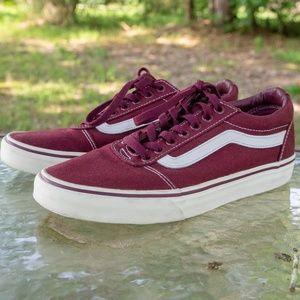 Vans Low-top Shoes (maroon/burgundy)
